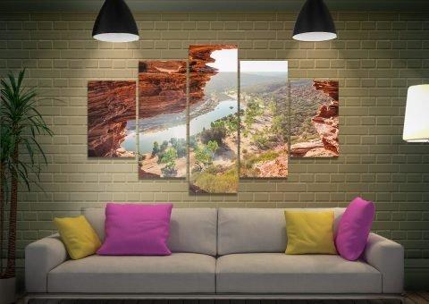 Ready to Hang Kalbarri Park Landscape Art AU