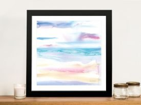 Pastel Morning Framed Art by Aimee del Valle