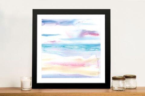 Pastel Morning Framed Art by Aimee del Valle