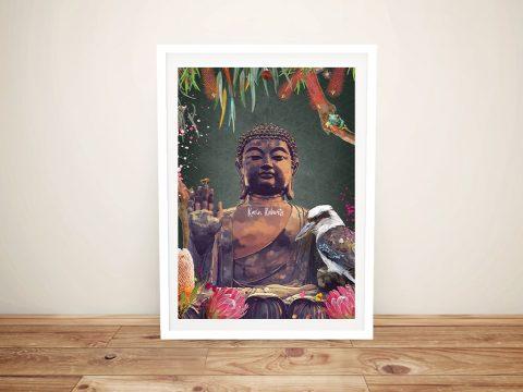 Serenity Buddha Print on Canvas