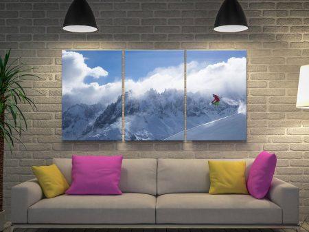 Buy a Snowboarder Triptych Art Set