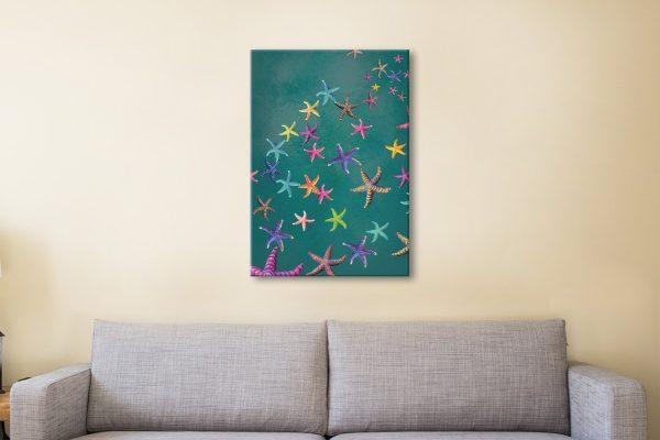 Affordable Starfish Print Unique Home Decor
