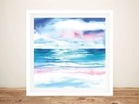 Buy Turquoise Sea l Framed Seascape