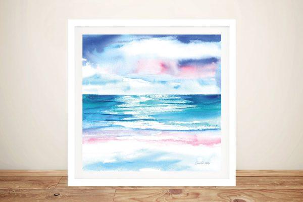 Buy TurquoiseSea l Framed Seascape