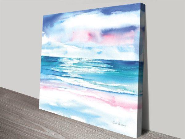 Seascape Watercolour Wall Art for Sale