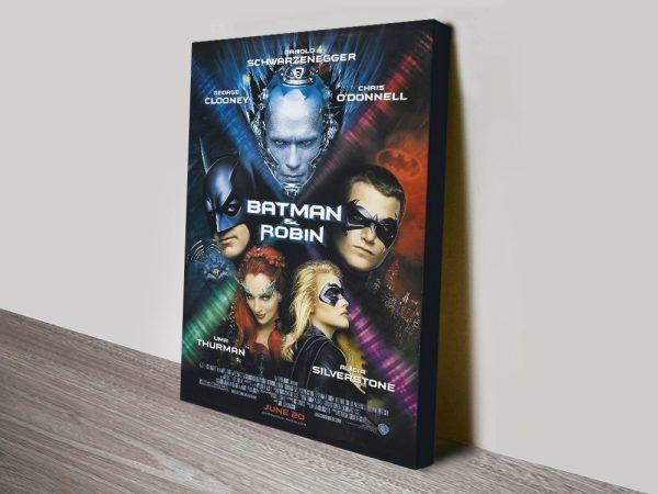 Batman & Robin Stretched Canvas Art AU