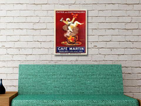 Ready to Hang Cappiello Antique Poster Art