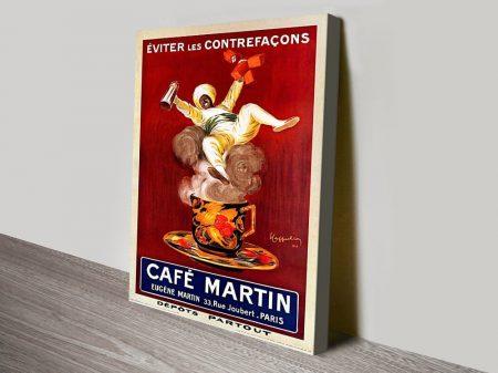 Cafe Martin Leonetto Cappiello Poster