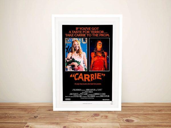 Carrie Framed Film Poster Gift Ideas AU