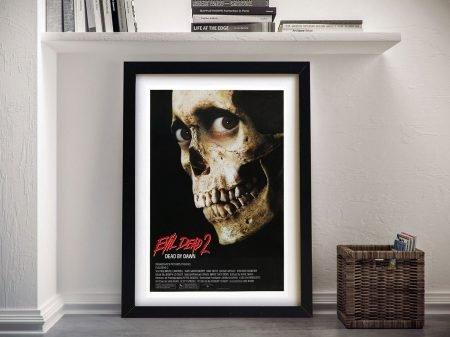 Evil Dead ll Vintage Movie Poster Print