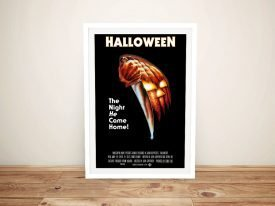 Buy a Framed Halloween Vintage Movie Poster