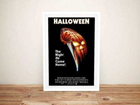 Buy a Framed Halloween Vintage Movie Poster