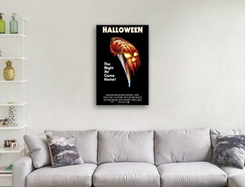 Halloween Film Poster Unique Home Decor