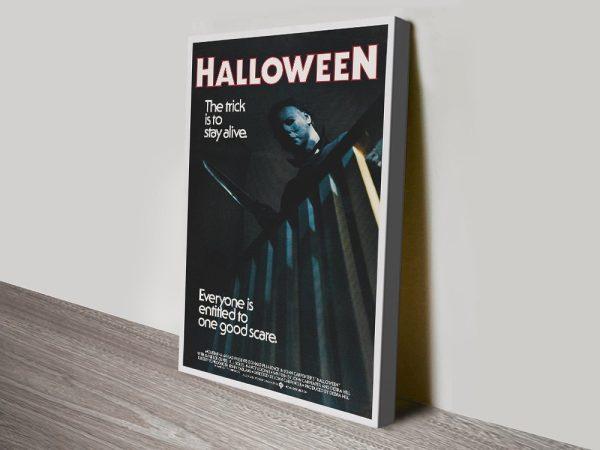 Vintage Halloween Horror Film Poster Art