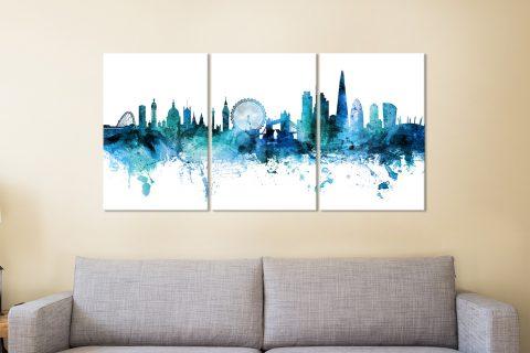 Michael Tompsett London Skyline Art