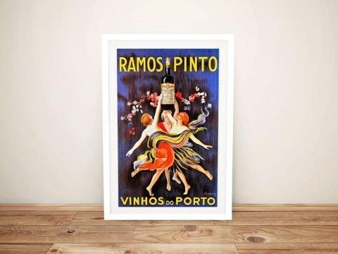 Ramos Pinto Framed Poster Gift Ideas AU