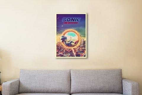 Sonic the Hedgehog Kids Wall Art AU