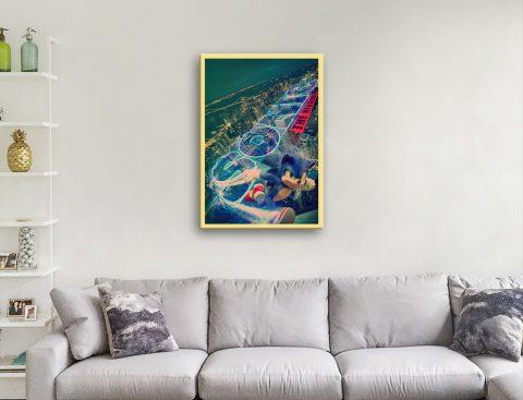 Affordable Sonic Poster Unique Home Decor
