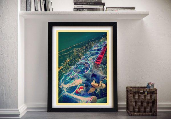 Buy a Framed Sonic Movie Poster