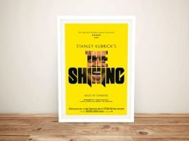 The Shining Vintage Framed Movie Poster