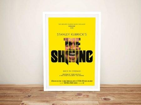 The Shining Vintage Framed Movie Poster