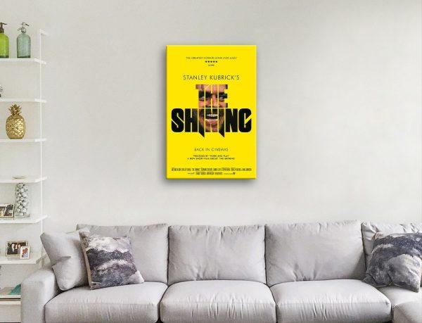 Jack Nicholson The Shining Poster Artwork