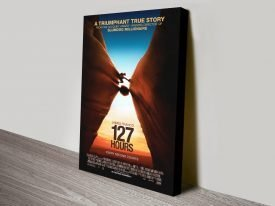 127 Hours Movie Poster on Canvas
