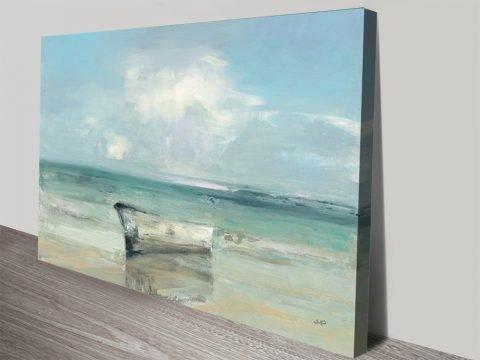 Ashore Seascape Print by Julie Purinton AU