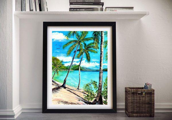 Beach Whitsunday Islands Seascape Art AU