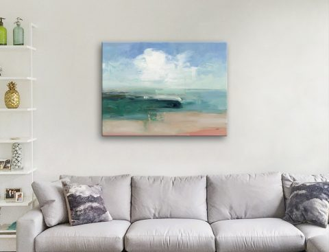 Affordable Abstract Watercolour Seascape