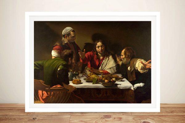 Framed Classic Caravaggio Wall Art AU