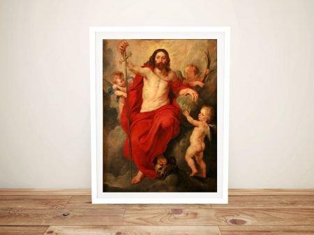 Christ Triumphant Over Death & Sin Artwork