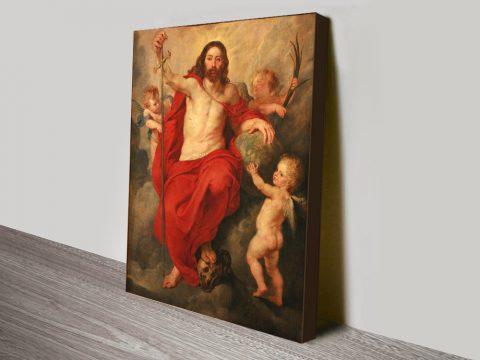 Ruben's Triumphant Christ Classic Art AU