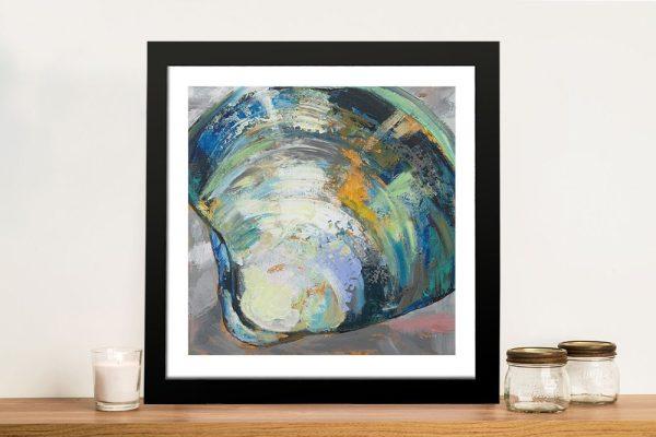 Framed Clamshell Jeanette Vertentes Print