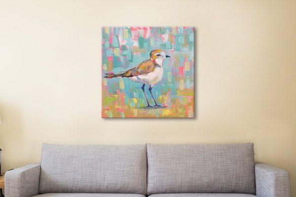 Coastal Plover lll Affordable Canvas Art