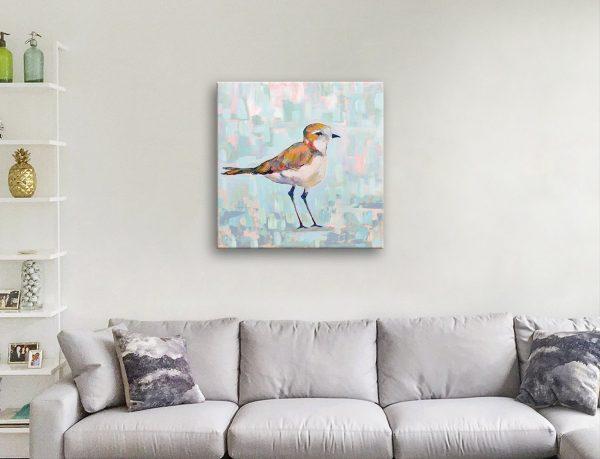 Ready to Hang Wild Bird Watercolour Print