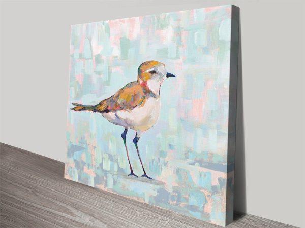 Affordable Watercolour Abstract Bird Artwork