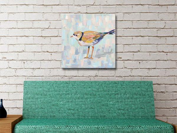 Coastal Plover lV Wall Art Unique Gifts AU