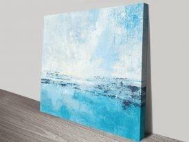 Coastal View l Seascape Art Print