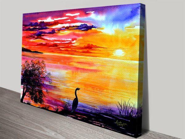 Colourful Linda Callaghan Aussie Art