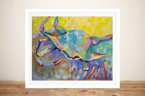 Buy Crabby Boy Colourful Abstract Art