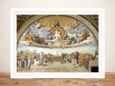 Disputation of the Holy Sacrament Wall Art