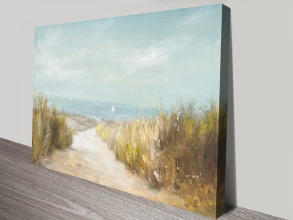 Danhui Nai Coastal Watercolour Print