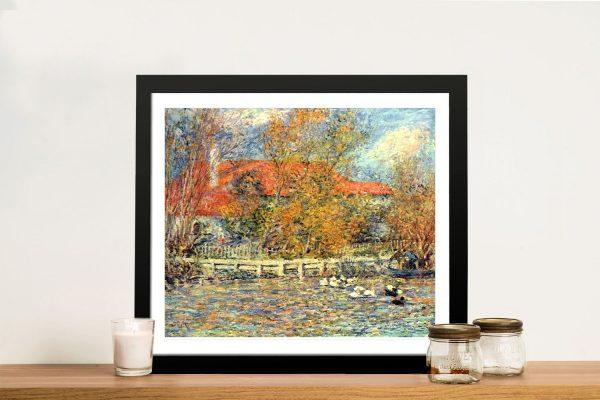 Renoir Duck Pond Classical Wall Art