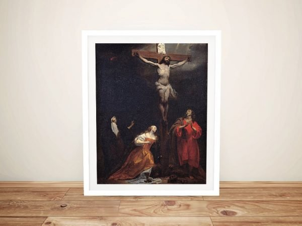 Crucifixion Framed Art Classic Art Sale AU
