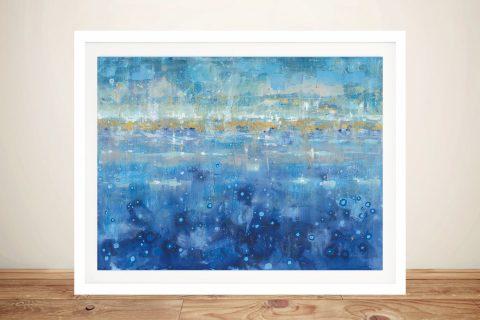 Horizon Framed Abstract Nautical Art Online