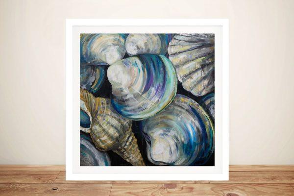Buy Key West Shells Nautical Wall Art