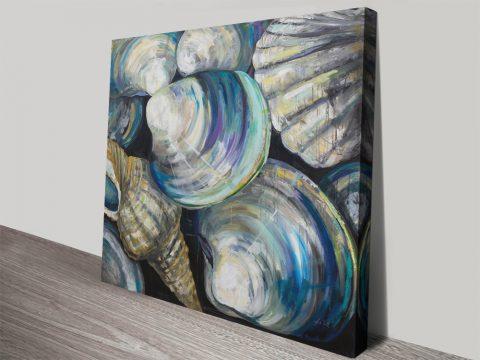 Key West Shells Artwork by Jeanette Vetentes