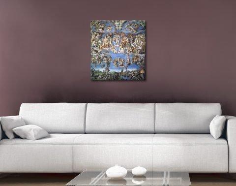 Michelangelo Christian Wall Art on Canvas