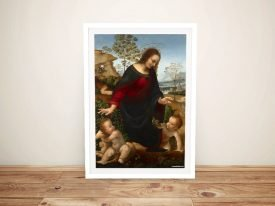 Buy a Framed Print of the Madonna and Child
